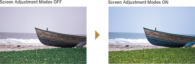 Screen Adjustment Mode