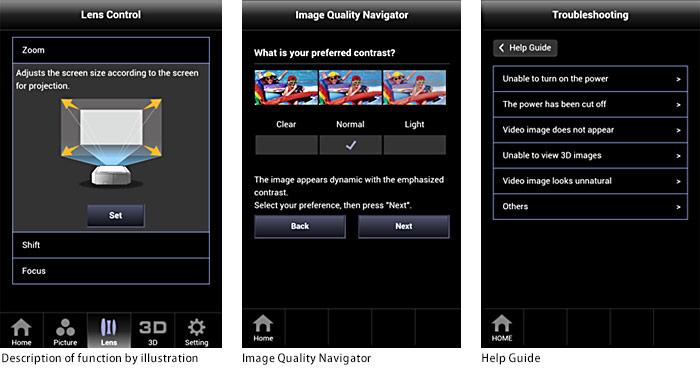 Convenient Features   DLA-X900R/DLA-X700R/DLA-X500R   JVC